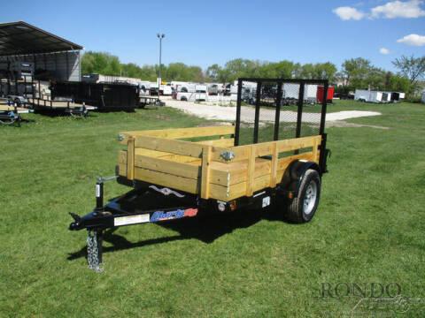 2021 Liberty Single Axle Utility LU3K60X8C4 for sale at Rondo Truck & Trailer in Sycamore IL