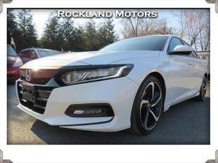 2019 Honda Accord for sale at Rockland Automall - Rockland Motors in West Nyack NY