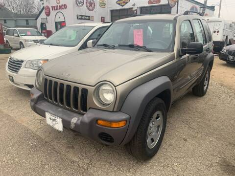 2004 Jeep Liberty for sale at Nelson's Straightline Auto - 23923 Burrows Rd in Independence WI