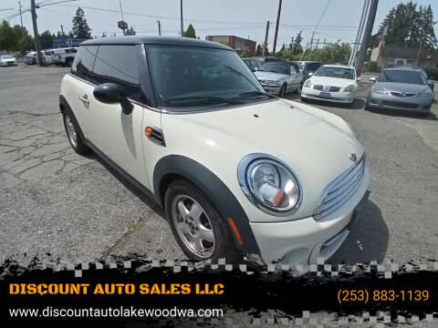 2011 MINI Cooper for sale at DISCOUNT AUTO SALES LLC in Lakewood WA