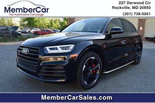 2019 Audi SQ5 for sale at MemberCar in Rockville MD