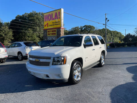 2014 Chevrolet Tahoe for sale at No Full Coverage Auto Sales in Austell GA