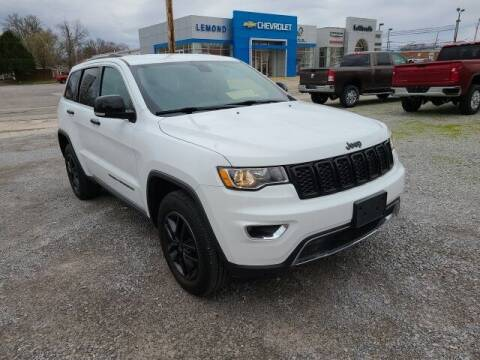 2017 Jeep Grand Cherokee for sale at LeMond's Chevrolet Chrysler in Fairfield IL