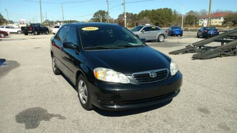 2005 Toyota Corolla for sale at Kelly & Kelly Supermarket of Cars in Fayetteville NC