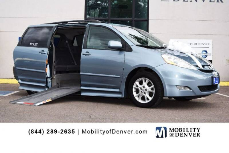 2006 Toyota Sienna for sale at CO Fleet & Mobility in Denver CO