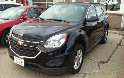 2017 Chevrolet Equinox for sale at Bob's Garage Auto Sales and Towing in Storm Lake IA