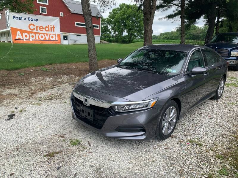 2018 Honda Accord for sale at Caulfields Family Auto Sales in Bath PA