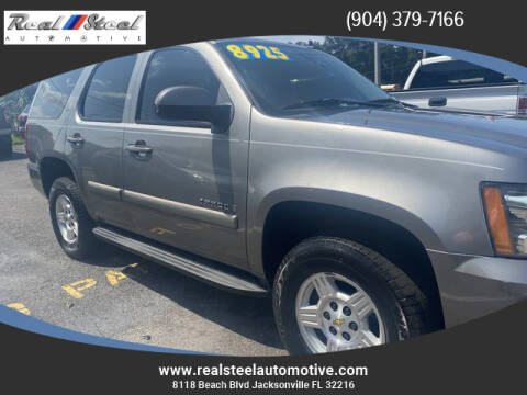 2008 Chevrolet Tahoe for sale at Real Steel Automotive in Jacksonville FL