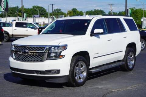 2017 Chevrolet Tahoe for sale at Preferred Auto Fort Wayne in Fort Wayne IN