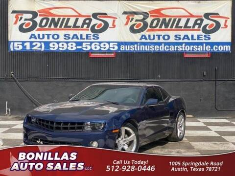 2011 Chevrolet Camaro for sale at Bonillas Auto Sales in Austin TX