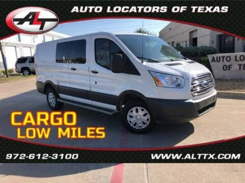 2018 Ford Transit Cargo for sale at AUTO LOCATORS OF TEXAS in Plano TX