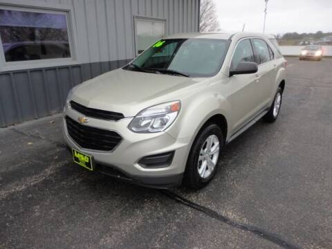 2016 Chevrolet Equinox for sale at Moss Service Center-MSC Auto Outlet in West Union IA