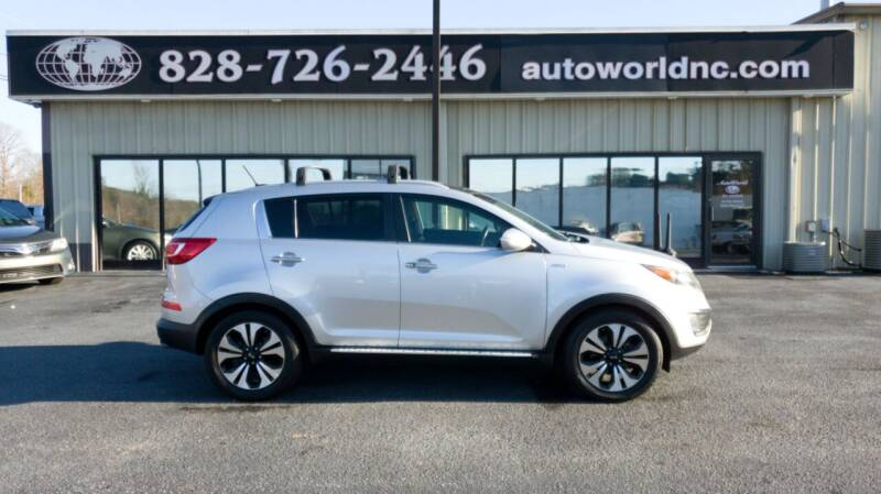 2013 Kia Sportage for sale at AutoWorld of Lenoir in Lenoir NC