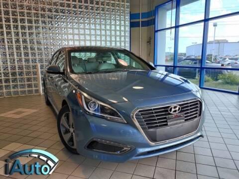 2016 Hyundai Sonata Hybrid for sale at iAuto in Cincinnati OH