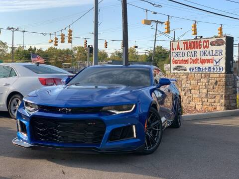 2018 Chevrolet Camaro for sale at L.A. Trading Co. in Woodhaven MI
