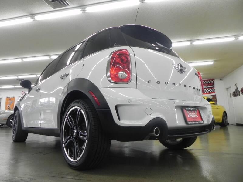 2012 MINI Cooper Countryman for sale at 121 Motorsports in Mount Zion IL
