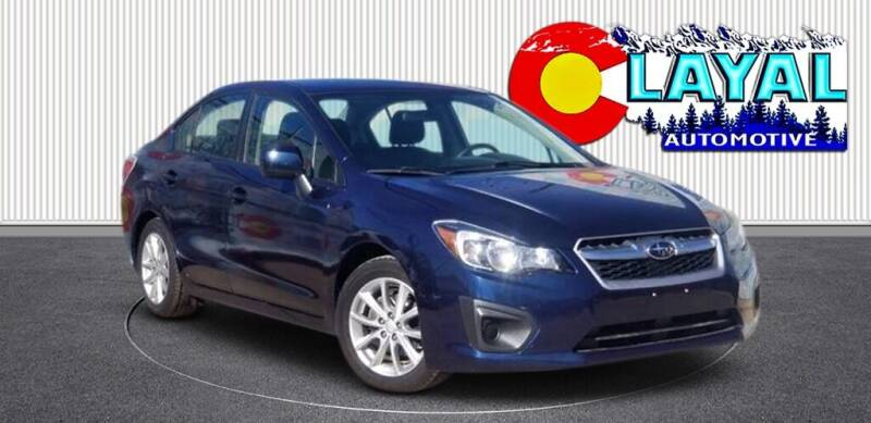 2014 Subaru Impreza for sale at Layal Automotive in Englewood CO