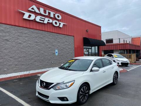 2018 Nissan Altima for sale at Auto Depot - Nashville in Nashville TN