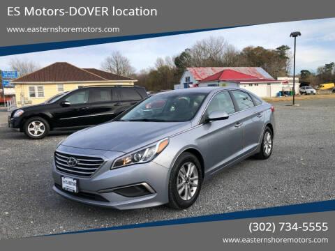 2016 Hyundai Sonata for sale at ES Motors-DAGSBORO location - Dover in Dover DE