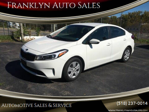 2017 Kia Forte for sale at Franklyn Auto Sales in Cohoes NY