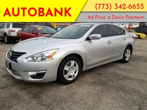 2014 Nissan Altima for sale at AutoBank in Chicago IL