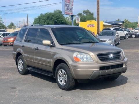 2003 Honda Pilot for sale at Brown & Brown Wholesale in Mesa AZ
