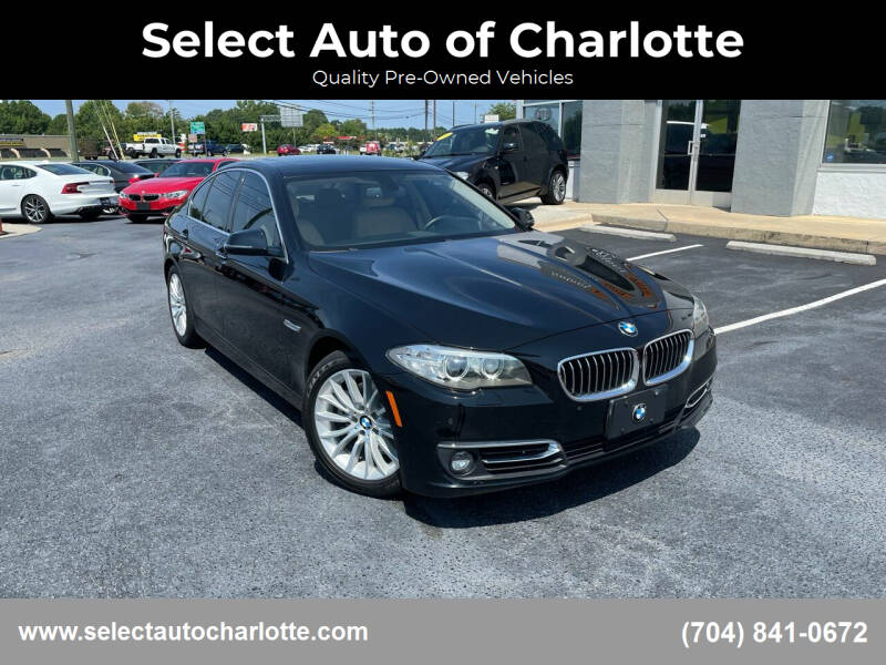 2014 BMW 5 Series for sale at Select Auto of Charlotte in Matthews NC