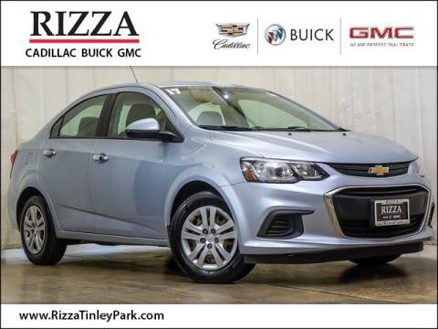 2017 Chevrolet Sonic for sale at Rizza Buick GMC Cadillac in Tinley Park IL