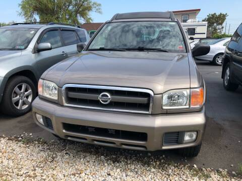 2002 Nissan Pathfinder for sale at Diamond Auto Sales in Pleasantville NJ