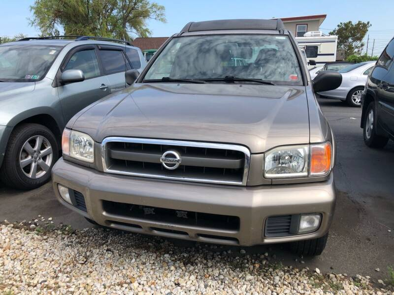 2002 Nissan Pathfinder for sale at Diamond Auto Sales in Pleasantville NJ