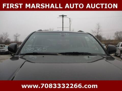 2006 Toyota 4Runner for sale at First Marshall Auto Auction in Harvey IL