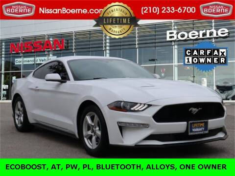 2018 Ford Mustang for sale at Nissan of Boerne in Boerne TX