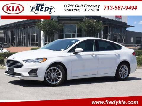 2020 Ford Fusion for sale at FREDY KIA USED CARS in Houston TX