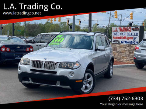2008 BMW X3 for sale at L.A. Trading Co. Woodhaven in Woodhaven MI