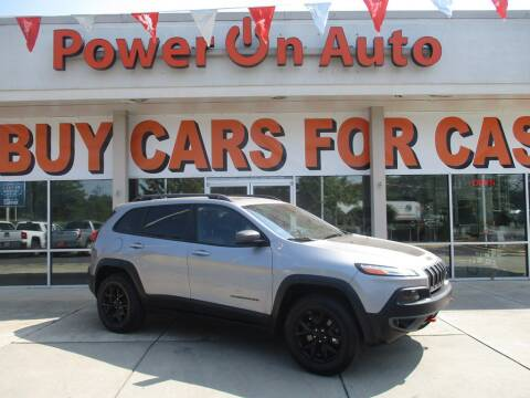 2015 Jeep Cherokee for sale at Power On Auto LLC in Monroe NC