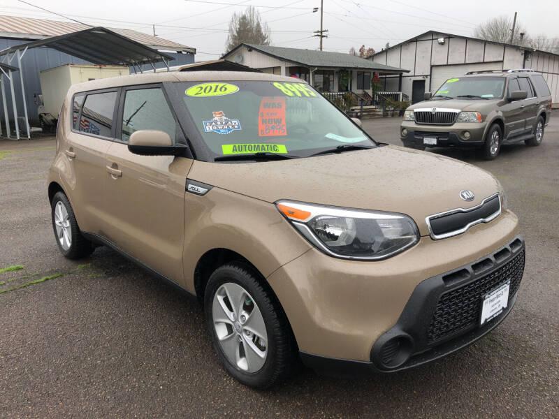 2016 Kia Soul for sale at Freeborn Motors in Lafayette, OR