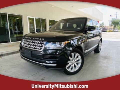 2017 Land Rover Range Rover for sale at FLORIDA DIESEL CENTER in Davie FL