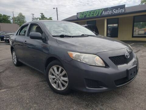 2009 Toyota Corolla for sale at speedy auto sales in Indianapolis IN