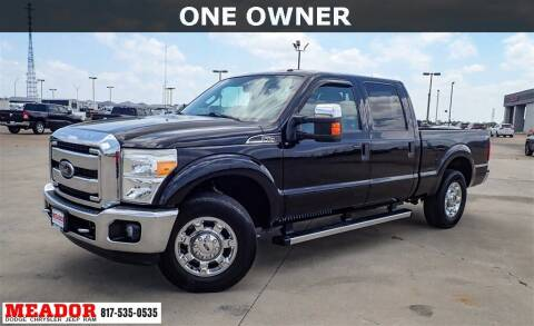 2016 Ford F-250 Super Duty for sale at Meador Dodge Chrysler Jeep RAM in Fort Worth TX