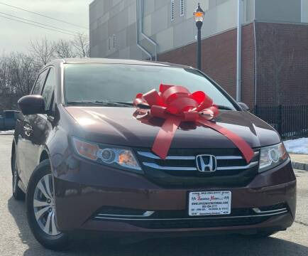 2014 Honda Odyssey for sale at Speedway Motors in Paterson NJ