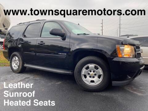 2013 Chevrolet Tahoe for sale at Town Square Motors in Lawrenceville GA