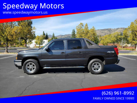 2006 Chevrolet Avalanche for sale at Speedway Motors in Glendora CA