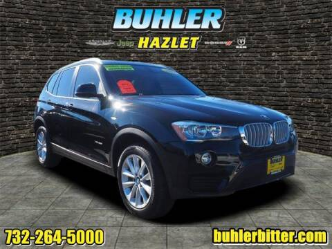 2017 BMW X3 for sale at Buhler and Bitter Chrysler Jeep in Hazlet NJ