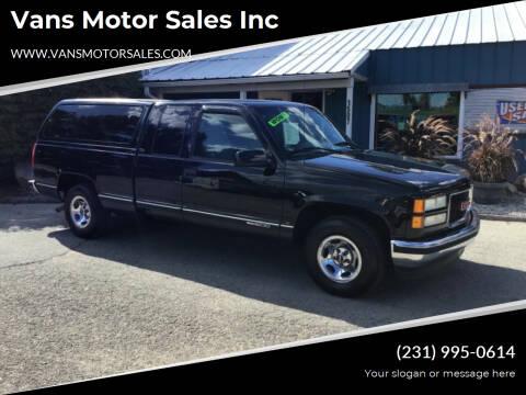 1995 GMC Sierra 1500 for sale at Vans Motor Sales Inc in Traverse City MI