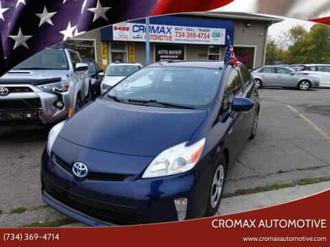 2014 Toyota Prius for sale at Cromax Automotive in Ann Arbor MI