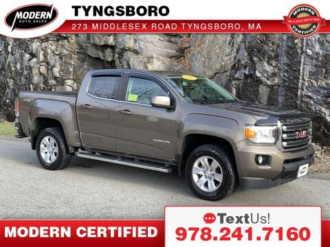 2017 GMC Canyon for sale at Modern Auto Sales in Tyngsboro MA