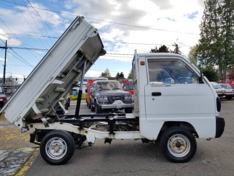 1990 Suzuki Carry Dump Truck 4x4 for sale at JDM Car & Motorcycle LLC in Seattle WA