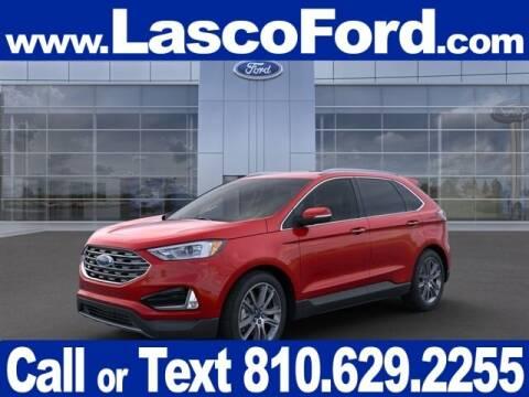 2021 Ford Edge for sale at LASCO FORD in Fenton MI