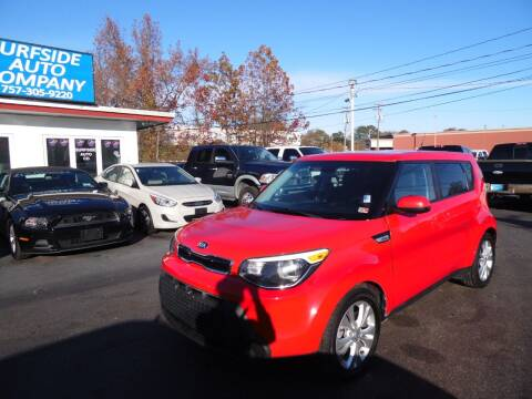 2015 Kia Soul for sale at Surfside Auto Company in Norfolk VA