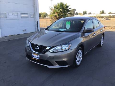 2016 Nissan Sentra for sale at My Three Sons Auto Sales in Sacramento CA